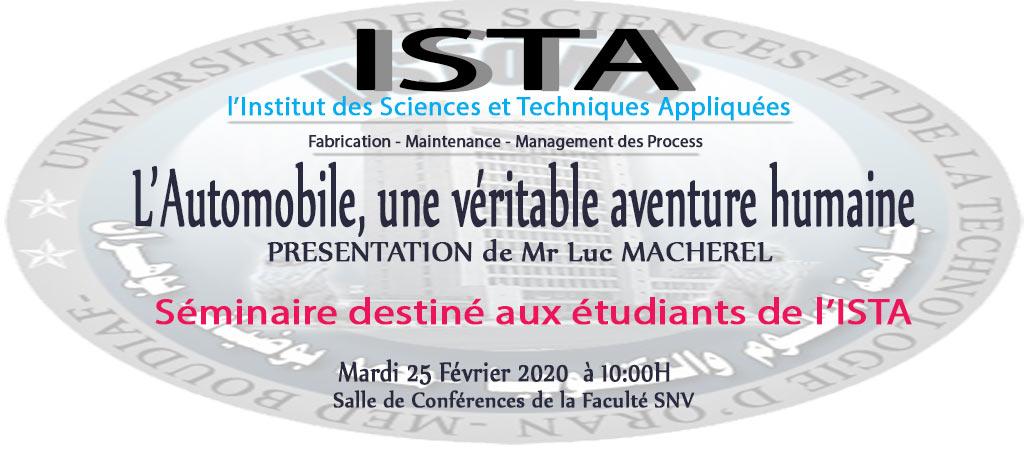 ISTA-2020