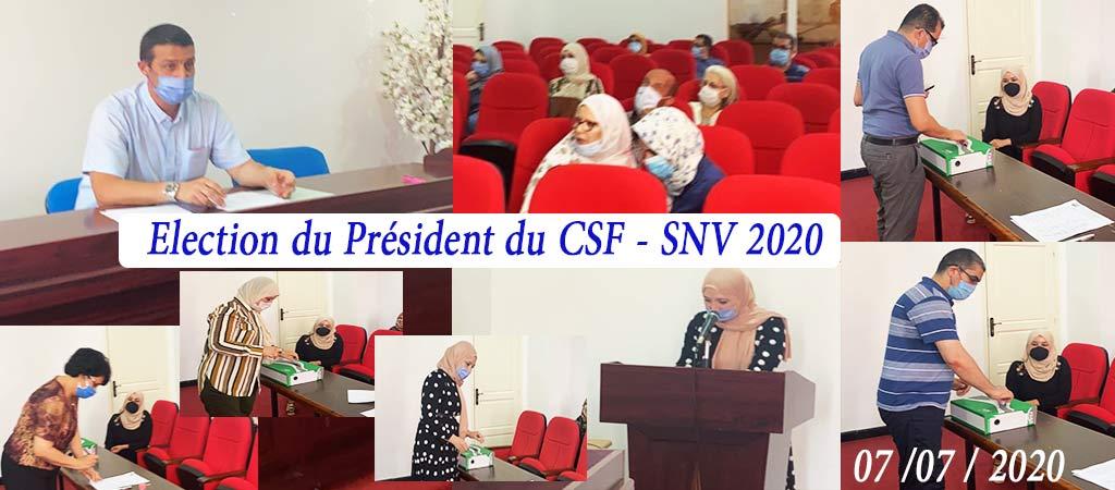 Elections-PRESIDENT-CSF-2020