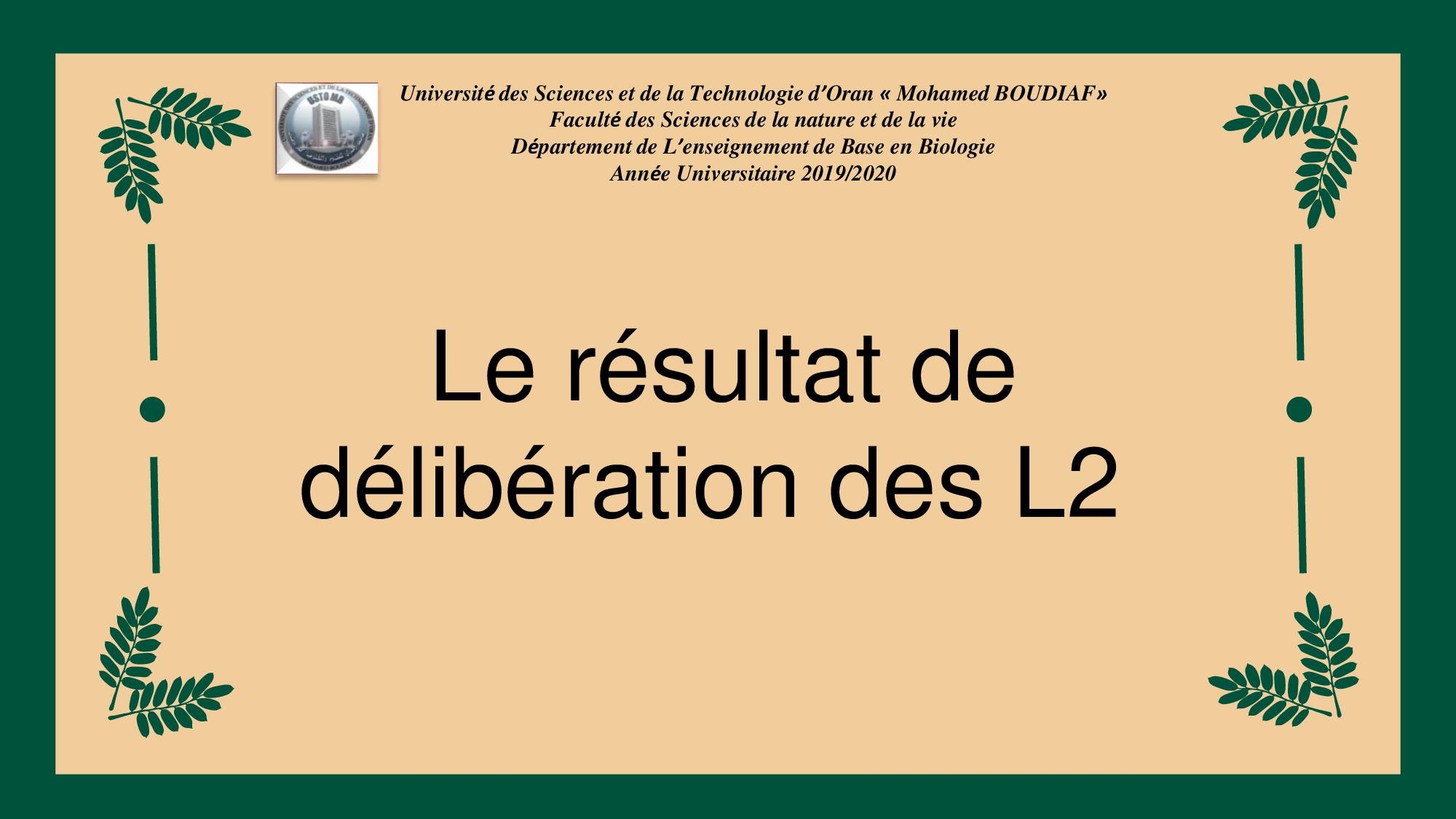 le-résultat-de-délibération-des-L2
